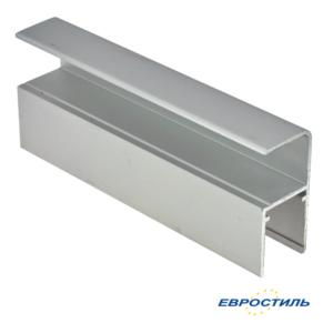 Профиль СТК-3 угловой для сантехнических перегородок и туалетных кабин из ЛДСП 16 мм