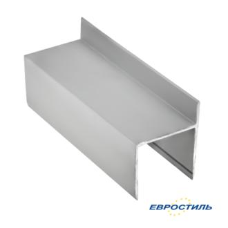 Профиль дверной СТК25-1 для сантехнических перегородок и туалетных кабин из ЛДСП 25 мм