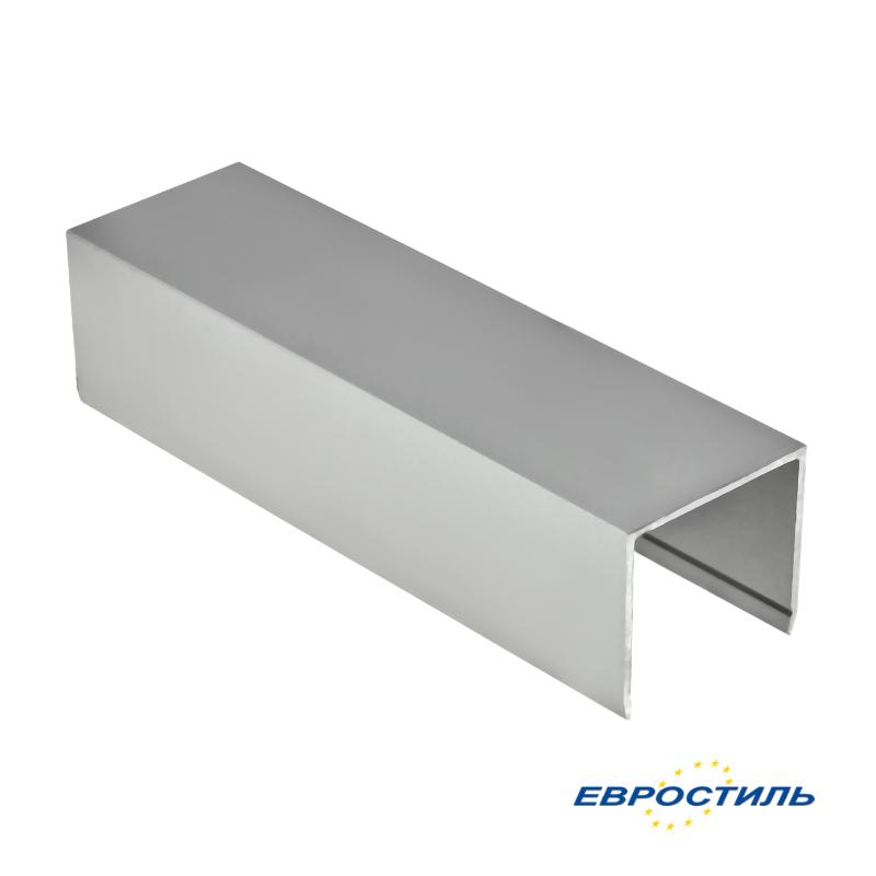 Профиль установочный СТК25-2 для сантехнических перегородок и туалетных кабин из ЛДСП 25 мм