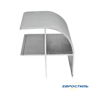 Профиль угловой СТК25-4 для сантехнических перегородок и туалетных кабин из ЛДСП 25 мм