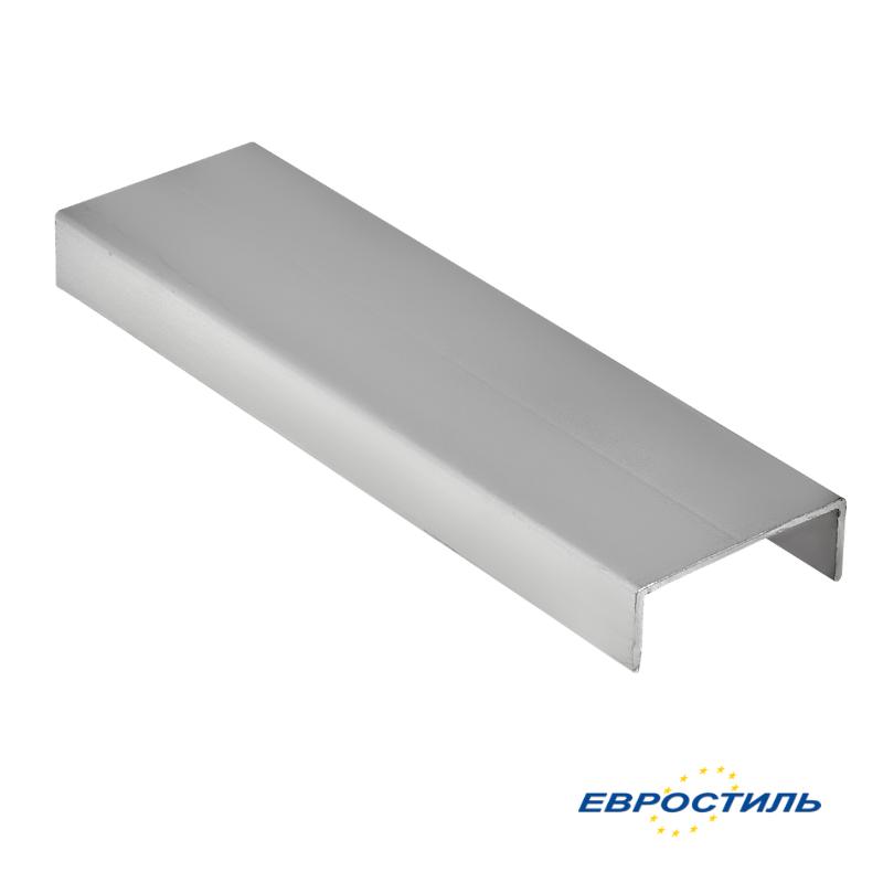 Профиль окантовочный СТК25-5 для сантехнических перегородок и туалетных кабин из ЛДСП 25 мм