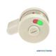 Завертка STCabine из пластика для сантехнических перегородок и туалетных кабин Евростиль