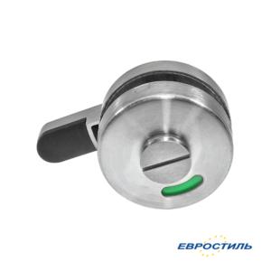 Завертка LK-011 ITA для сантехнических перегородок и туалетных кабин Евростиль