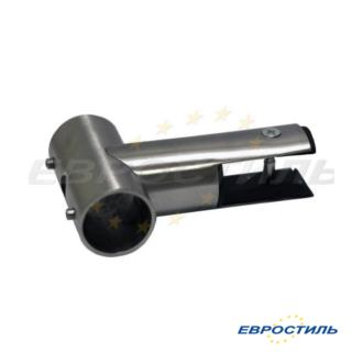 Подвесной зажим для установки сантехнических перегородок из ЛДСП 16-18 мм