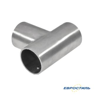 Соединительный элемент Т-образный для трубы для установки сантехнических перегородок и туалетных кабин - Евростиль