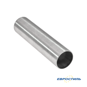 Труба 25 мм из нержавеющей стали для сантехнических перегородок - Евростиль