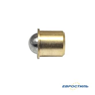 Шариковый фиксатор для сантехнических перегородок и туалетных кабин - Евростиль