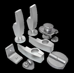 Комплект фурнитуры Design для сантехнических перегородок