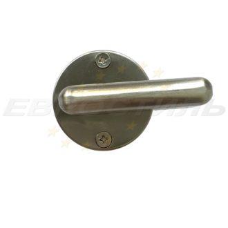 металлическая ручка заверка для туалетных кабин LK 015