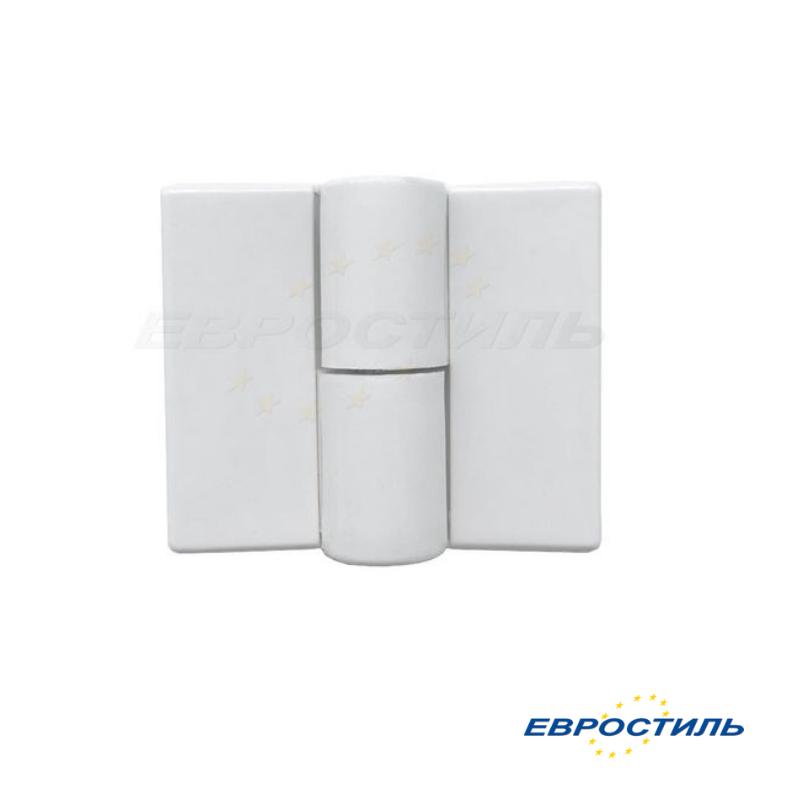 Петля STCabine белая левая и правая для сантехнических перегородок и туалетных кабин - Евростиль