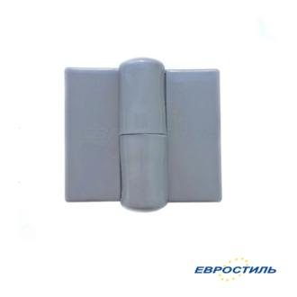 Петля STCabine серая левая и правая для сантехнических перегородок и туалетных кабин - Евростиль
