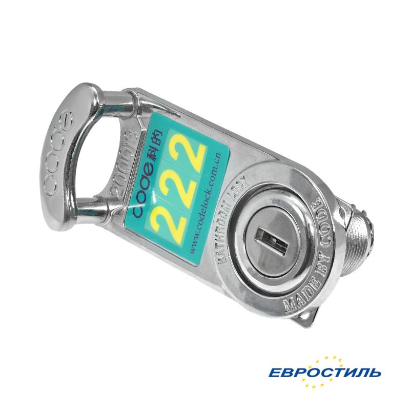 Замок мебельный Locker Lock для шкафчиков в раздевалке - компания Евростиль