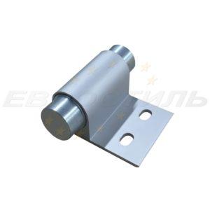 петля алюминиевая накладная для шкафчика в раздевалку из HPL