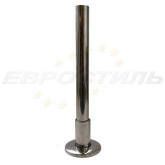 ножка опорная зеркальная для туалетных перегородок дсп 25 мм
