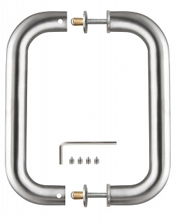 Ручка-скоба для туалетных сантехнических перегородок