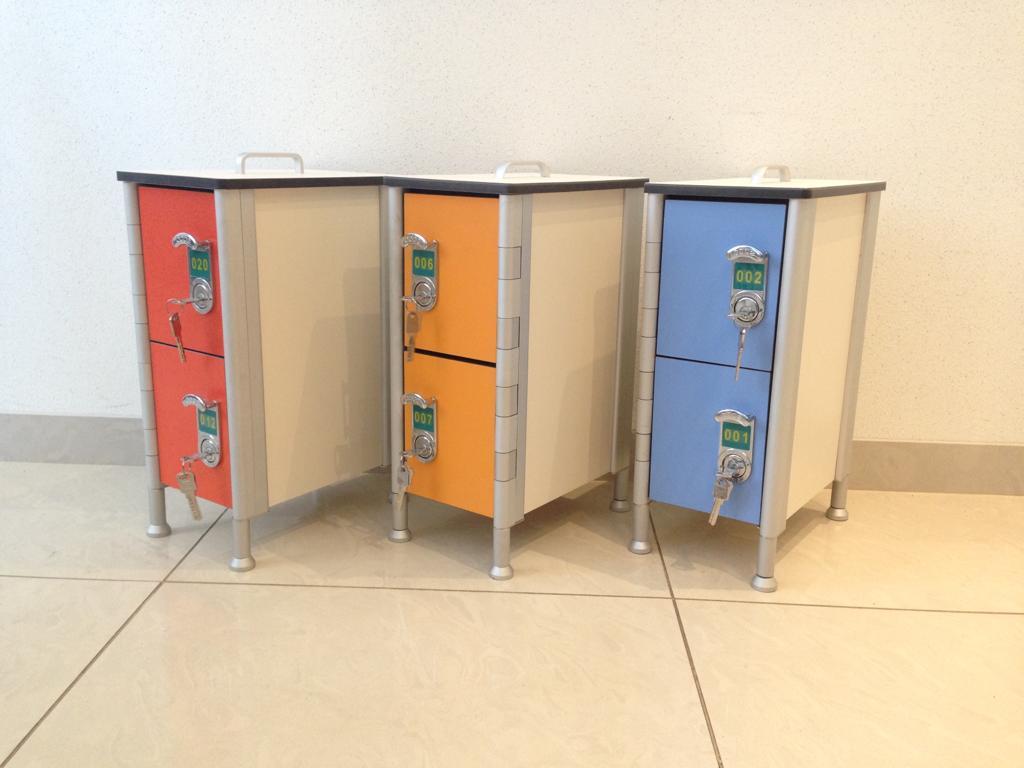 Образец шкафчиков для раздевалок и индивидуальных ячеек