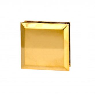 Крепеж пол-стена-стекло, латунь Ti