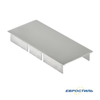 Крышка для напольного профиля 12-16 мм для сантехнических перегородок и туалетных кабин - Евростиль