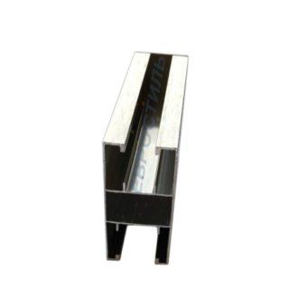 Напольный профиль для сантехнических перегородок под 16 и 12 мм