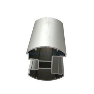 Верхний алюминиевый профиль под заполнение 25 мм