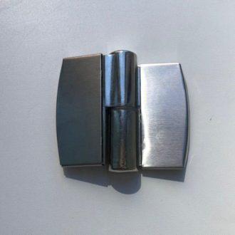 Петля H20 универсальная накладная для сантехнических перегородок